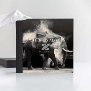 where is adam limited edition book cover nude elephant dust